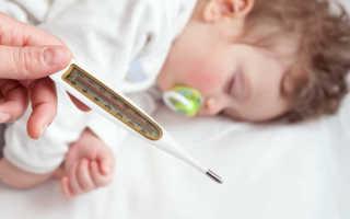 У ребенка температура 39 без симптомов. Причины и что нужно делать.