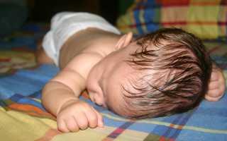 Ребенок сильно потеет во сне