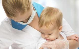 У ребенка поднялась температура после прививки от гриппа.