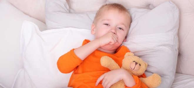 Кашель у ребенка во время сна.