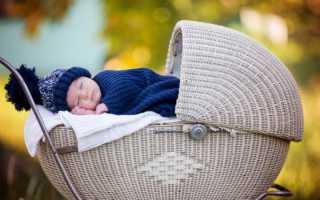Почему ребенок не спит на улице в коляске?